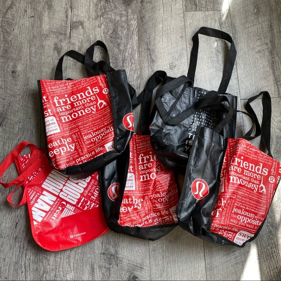5 lululemon bags